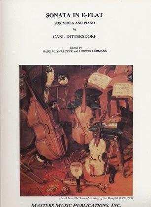 LudwigMasters Dittersdorf, Carl: Sonata in Eb (viola & piano)