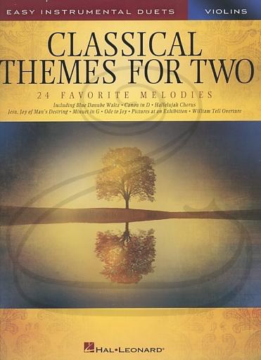 HAL LEONARD Hal Leonard (Deneff): (collection) Classical Themes for Two Violins -ARRANGED (2 violins) Hal Leonard