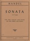 International Music Company Handel, G.F.: Sonata in D (2 violins & piano)