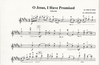 Burckart, E.: O Jesus, I Have Promised (violin & piano)