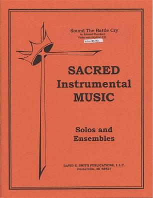 BurckartE.: Sound the Battle Cry (violin & piano)