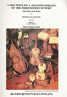 LudwigMasters Busoni, Ferruccio: Op.22 Variations on a 13th c. Minnesangerlied (violin & piano)