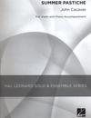 HAL LEONARD Cacavas, John: Summer Pastiche (violin & piano)