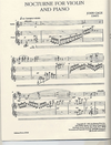 Cage, John: Nocturne for Violin and Piano (1947)