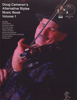 Cameron, Doug: Alternative Styles Music Book SeriesEntire Set by Doug Cameron. For violin solo. Set of 4 books with 3 accompaniment CDs and 4 DVDs.