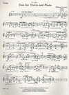 HAL LEONARD Carter, Elliott: Duo 1974 (violin & piano)