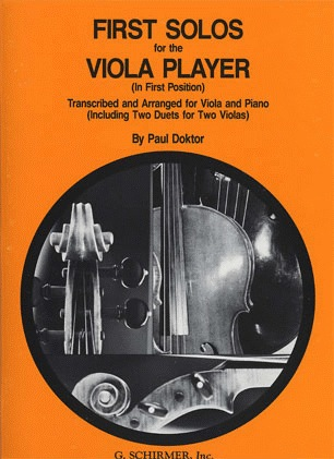 HAL LEONARD Doktor, Paul: First Solos for the Viola Player (viola & piano)