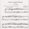 HAL LEONARD Dont, J: 20 Progressive Exercises for the Viola (with 2nd viola accompaniment)