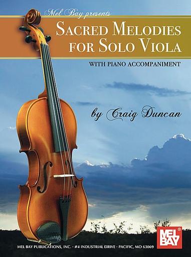 Duncan, Craig: Sacred Melodies for Viola Solo (Viola & Piano)