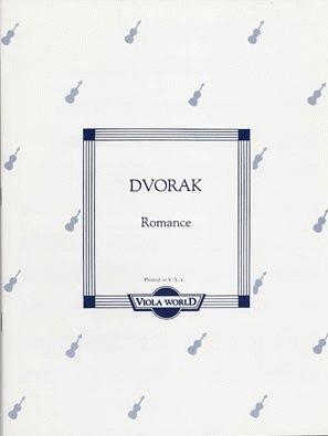 Dvorak (Arnold): Romance (viola & piano)