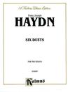 Alfred Music Haydn, F.J.: 6 Duets (2 violins)