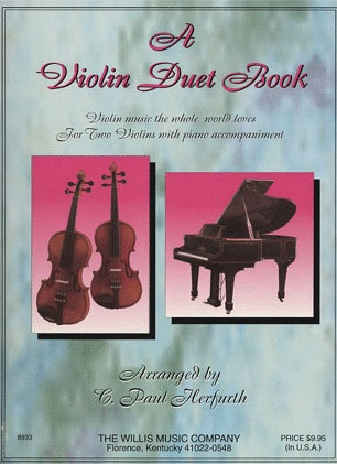 HAL LEONARD Herfurth, C.P.: A Violin Duet Book (2 violins & piano)