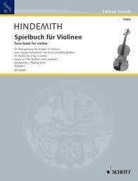 HAL LEONARD Hindemith, Paul: Tune Book - 41 Studies on the Doflein Method (1 or 2 violins)