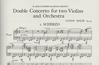 HAL LEONARD Holst, Gustav: Concerto for Two Violins Op.49 (2 violins, Piano, Score)