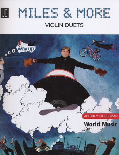 Carl Fischer Igudesman, A.: Miles & More  (2 violins)