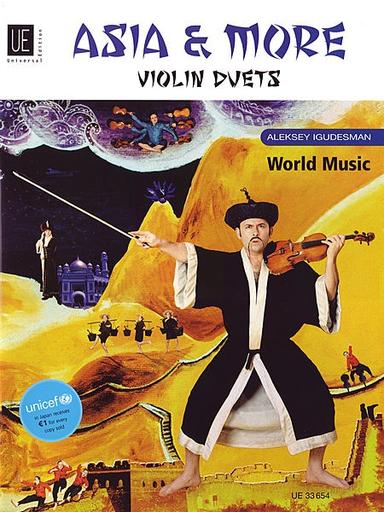 Carl Fischer Igudesman, Aleksey: Asia & More Violin Duets (2 Violins)