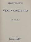 HAL LEONARD Carter, E.: Concerto (violin)