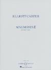 HAL LEONARD Carter, Elliott: Mnemosyné for Solo Violin