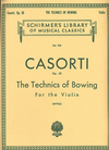HAL LEONARD Casorti, A. (Mittell): Techniques of Bowing for the Violin, Op.50 (violin)