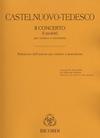 HAL LEONARD Castelnuovo-Tedesco, Mario: Concerto No. 2-I Profeti (Reduction for violin and piano)