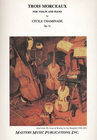 LudwigMasters Chaminade, Cecile: Trois Morceaux Op.31 (violin & piano)