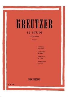 HAL LEONARD Kreutzer, R. (Principe): 42 Studies (violin)