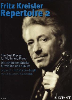 HAL LEONARD Kreisler, Fritz: Repertoire Vol.2 (violin & piano)