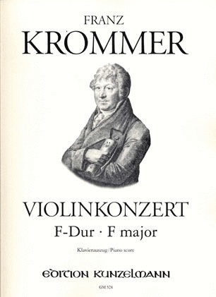 Krommer, Franz: Violin Concerto in f (violin & piano)