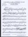 HAL LEONARD Elgar, Edward: Cello Concerto with solo part arranged for VIOLA