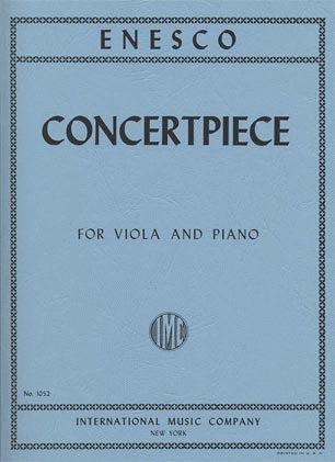 International Music Company Enesco, Georges: Concertpiece (viola & piano)