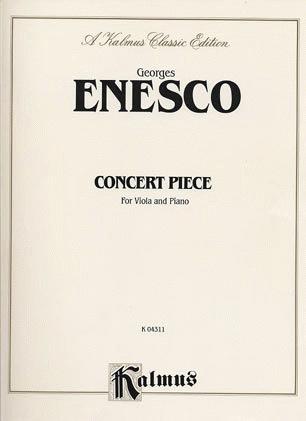 Alfred Music Enesco, Georges: Concertpiece (viola & piano)