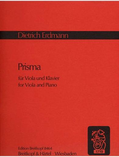 Erdmann, Dietrich: Prisma (viola & piano)