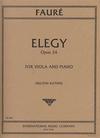 International Music Company Faure, G. (Katims): Elegy Op.24 (viola & piano)