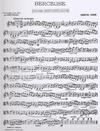 Faure, Gabriel: Berceuse (violin or viola or cello & piano)