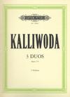 Kalliwoda, Johan: Violin Duos, Op. 179 (2 violins)