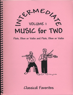 Last Resort Music Publishing Kelley, Daniel: Intermediate Music for Two Vol.1 Classical Favorites (2 violins)