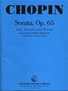 Carl Fischer Chopin, Frederic (Ranjbaran): Sonata Op.65 (violin & piano)