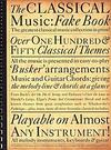 HAL LEONARD Classical Music Fake Book (violin, Chords)