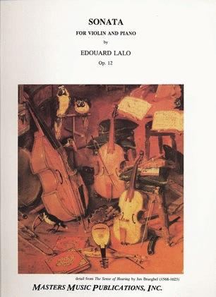 LudwigMasters Lalo, Edouard: Sonata Op.12 (Violin & Piano)