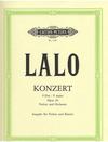 Lalo, Edouard: Violin Concerto Op.20 (violin & piano)