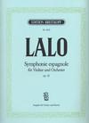 Lalo, Edouard: Symphonie Espagnole Op.21 (violin & piano)