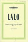 Lalo (Menuhin): Symphonie Espagnole, Op.21 (violin & piano)
