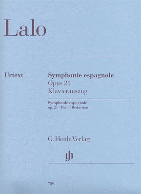 HAL LEONARD Lalo (Jost): Symphonie Espagnole in D minor, Op.20 (violin & piano)