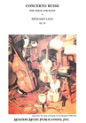 LudwigMasters Lalo, Edouard: Concerto Russe Op.29 (violin & piano)