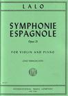 International Music Company Lalo (Francescatti): Symphonie Espagnole Op.21 (violin, piano) IMC