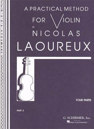 HAL LEONARD Laoureux, Nicolas: Practical Method for Violin Part 2 (violin)