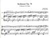 PETERS Faure, Gabriel: Sicilienne Op.78 (viola & piano) PETERS