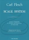 Carl Fischer Flesch (Karman): Scale System (viola) FISCHER