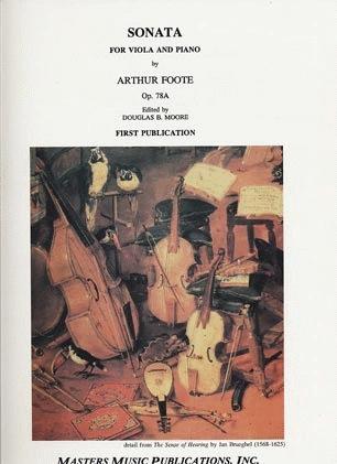LudwigMasters Foote, Arthur: Sonata for Viola & Piano Op.78a