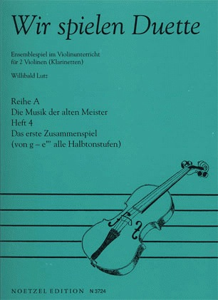 Lutz: We Play Duets-Music of the Old Masters Vol.4 (2 violins)